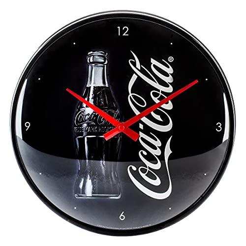 Nostalgic-Art Orologio da Parete Coca-Cola Good Taste – Idea Regalo per Amanti della Coke, Grande Decorazione per la Cucina, Design Vintage, 31 cm