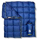 Horizon Hound Down Camping Blanket - Outdoor Lightweight Packable Down Blanket Compact Waterproof and Warm for Camping Hiking...