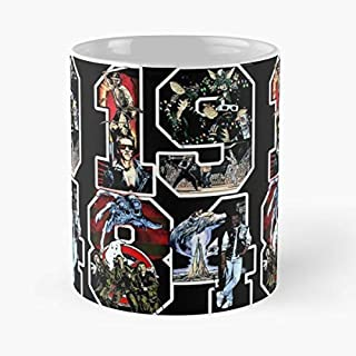 Elm Street - Best Gift Ceramic Coffee Mugs 11 Oz