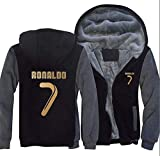 Sudadera Real Madrid No.7 C Ronaldo Soccer Club Round Cuello Regalo de f/útbol de Manga Larga para Hombres y Mujeres Ni/ños Ni/ñas