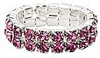 2 Row Crystals Stretch Ring