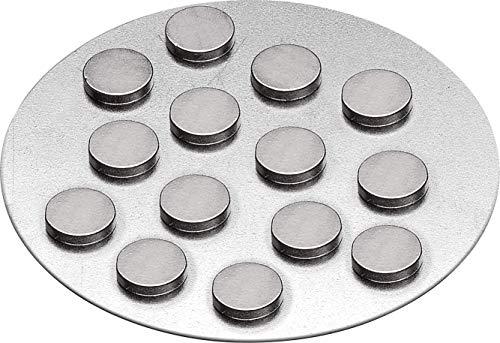 Magnete 10x2 mm, extra stark, sehr klein, 12 Stück Beutel + Einkaufswagen Chip Gratis!