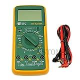 Multimètre numérique LCD pour testeur de résistance AC/DC