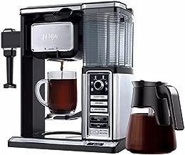Ninja Coffee Maker CF090CO 50 oz. Glass Carafe Reusable Filter (Renewed)
