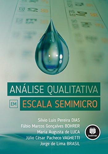 Análise Qualitativa em Escala Semimicro (Portuguese Edition)