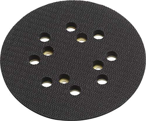 Meister Klett-Schleifteller Ø 1 Stück-Zubehör für Exzenterschleifer-Mit Klettverschluss-System/Stützteller für 125 mm Schleifscheiben / 5457170