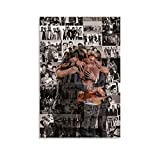 NIGE One Direction Art Photo Canvas Art Poster and Wall Art Picture Print Modern Family Bedroom Decor Posters 08x12inch(20x30cm)
