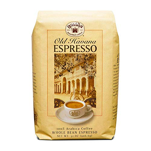 Gavina Old Havana Espresso, Whole Bean, 100% Arabica Coffee, 32-Ounce
