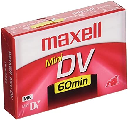 Maxell 298012 Advanced Digital Picture Technology 60 Minute Recording SPmode Time Mini Dv Cassette