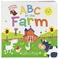 ABC on the Farm (Large Children's Interactive Lift-A-Flap Board Book)