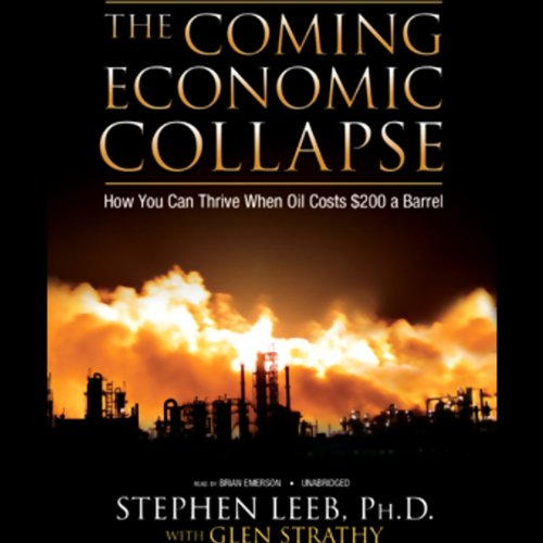 The Coming Economic Collapse audiobook cover art
