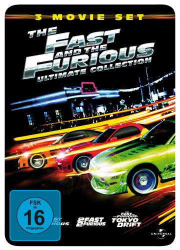 The Fast and the Furious 1 - 3 (Ultimate Collection Steelbook)