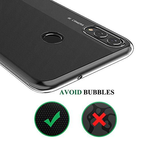 BENNALD Hülle für Honor 8X Hülle, Clear Soft Flex Silikon Durchsichtige Schutzhülle Case Cover-Slim TPU Bumper Tasche Passgenau Handyhülle für Huawei Honor 8X (Transparent, Clear) - 6