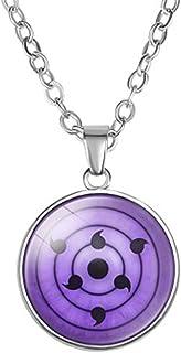 I3C Collana con ciondolo, Accessori per cosplay e casuale, Regalo per i fan dell'anime Naruto, Lega, Unisex