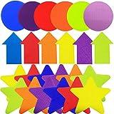 42 Pezzi da 10 Cm Per Tappeti, Tappeto Spot Marker, Segnaposto A Punti Di Colore Per Pavim...