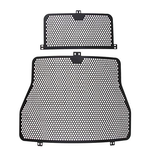 Almencla Hochwertiger Aluminium Kühlerschutz Schützende Kühlergrillabdeckung für BMW S1000RR/S1000R/S1000XR/HP4, Vorne