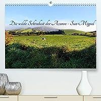 Die wilde Schoenheit der Azoren - Sao Miguel (Premium, hochwertiger DIN A2 Wandkalender 2022, Kunstdruck in Hochglanz): Perlen in der unendlichen Weite des Atlantiks (Monatskalender, 14 Seiten )