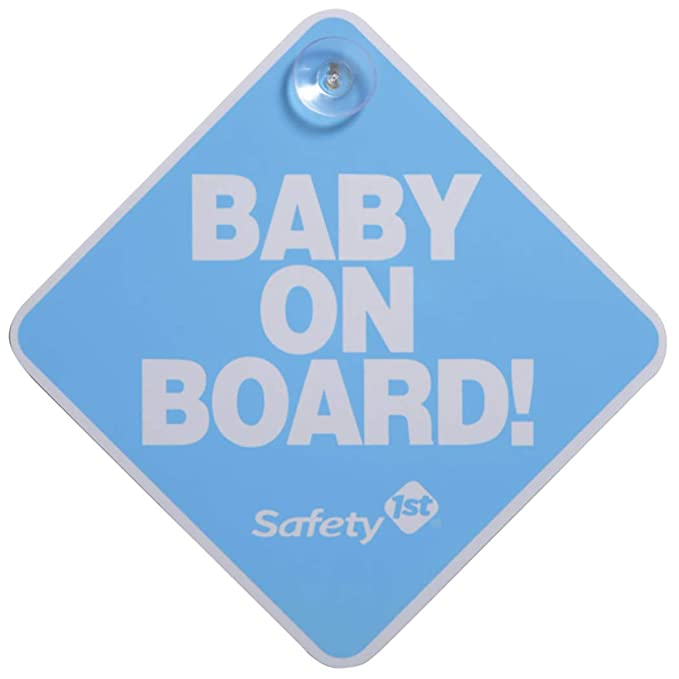 2 Count Safety 1st Baby On Board Sign