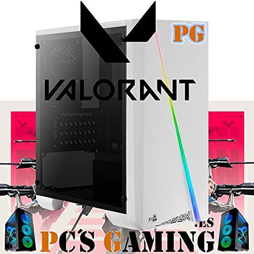 PC'S Gaming - VALORANT PC Gamer AMZ 2022 (CPU Ryzen 3 4/4N x 4,00 GHz, T. Gráfica 2 GB, HDD 1 TB, Ram 16 GB, W10) + WiFi de Regalo. pc Gamer, pc Gaming, Ordenador para Juegos (actualizado 2022)
