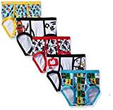 LEGO Boys' Little 5-Pack Brief Underwear, NINJAGO-Multi, 6