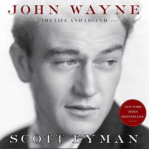 John Wayne audiobook cover art