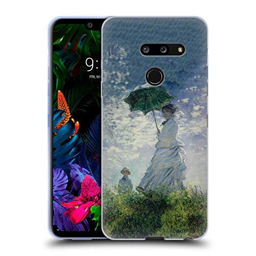 Officiële Masters Collection Madame Monet & Zoon Schilderijen 2 Soft Gel Case Compatibel voor LG G8 ThinQ
