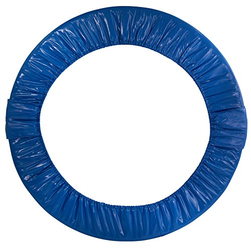Upper Bounce Replacement Safety Pad, Fits 38  Round Mini Rebounder Foldable Trampoline with 6 Legs- Blue