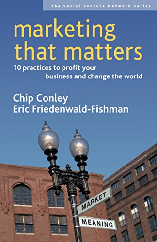 Marketing That Matters: 10 Practices to Profit Your Business and Change the World (SVN, Band 3)