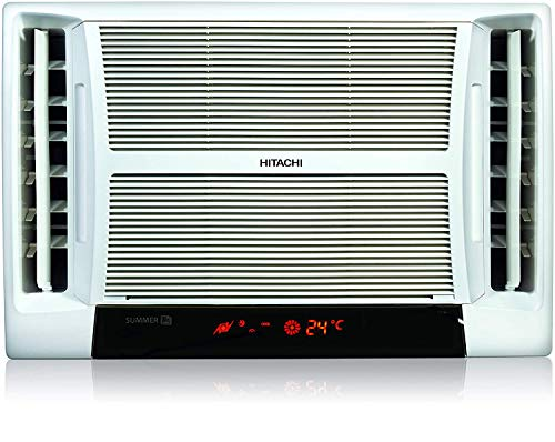 Hitachi 1.5 Ton 5 Star Window AC (RAT518HUD Summer TM White)