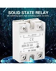 Relé, módulo de relé de estado sólido Relé compacto Relé de estado sólido Módulo de relé AC-AC, relé de 25 A, máquina para controlador