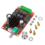 CENPEN Placa de Circuito Estéreo AMP TPA3116D2 Amplificador Digital de Clase D Junta 2x50W 12V 24V Dual Channel