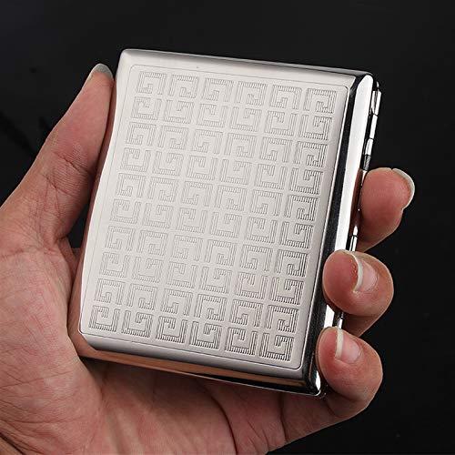 XIAOXIA Caja De Cigarrillo De Cobre Puro Facho De Fumar Caja De Cigarrillo De Metal 20 Fortune Flower Funda De Cigarrillo A Prueba De Humedad