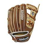"Wilson A2000 1786 Infield Baseball Glove, Blonde/Tan/White, 11.5"", Left Hand"