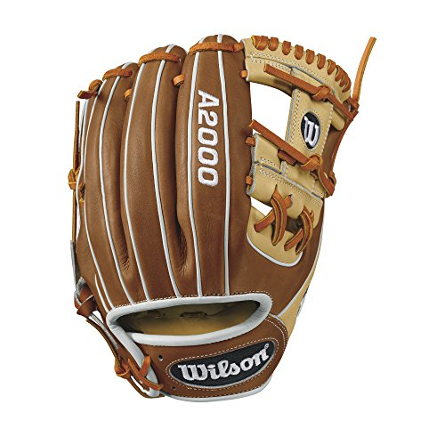 Wilson WTA20RB171786 A2000 1786 Infield Baseball Glove, Blonde/Tan/White, 11.5