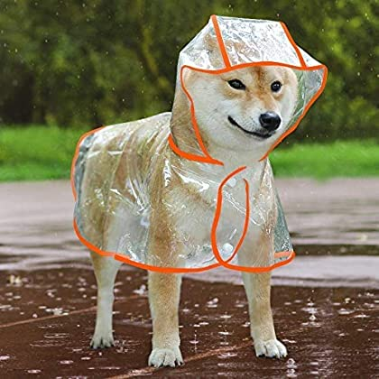Material: aus 100 % wasserdichtem PU-Material, das Ihren Hund vor Regen und Schnee schützt. Design: Wasserdichter Hunde-Regenmantel kann Ihren Haustieren helfen, trocken und komfortabel im Freien oder bei nassem Wetter zu bleiben. Eigenschaften: Ein ...