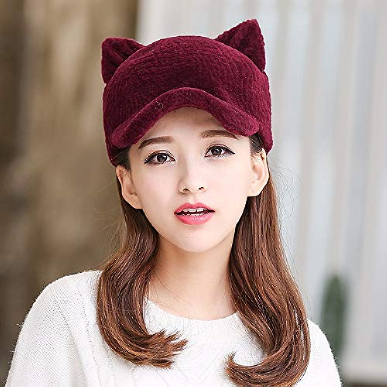 Fur hat Female Winter Sweet Cute Outdoor Warm Cap