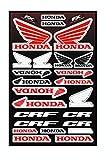 Kit Pegatinas ADESIVI PATROCINADOR Moto Compatible para Honda Yamaha KTM Cross Enduro Casco (34)