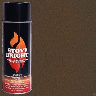 Stove Bright TI-8101 High Temperature Paint, 1200 Degree F Operating Temperature Range, 12 oz Aerosol, Metallic Mahogany