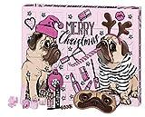 FESH! Pug'tastic Beauty Advent Calendar - Calendario de Adviento con dulces carlino (24 unidades)