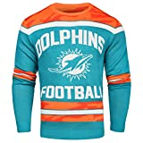 NFL Miami Dolphins GLOW IN THE DARK Ugly Sweater, XX-Large