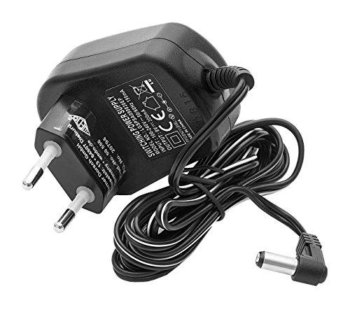 Wedo 50556 Netzgerät 9 Volt / 300 mA, für Waagen 502000 und 507012, schwarz