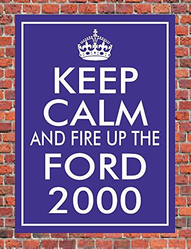 PotteLove houden kalm en vuren de Ford 2000 3000 4000 5000 of 7000 teken klassieke trekker