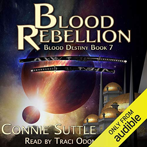 Blood Rebellion audiobook cover art
