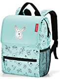 reisenthel backpack kids Kinder-Rucksack 21 x 28 x 12 cm/5 l cats and dogs mint