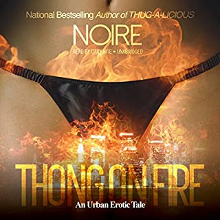 Thong on Fire audiobook cover art