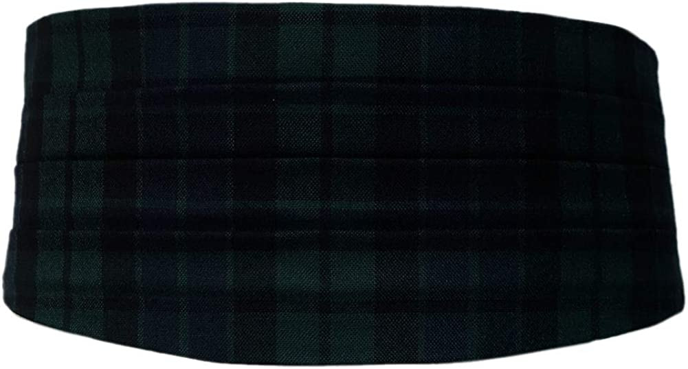 Ingles Buchan Mens Adjustable Scottish Tartan Cummerbund MacKay