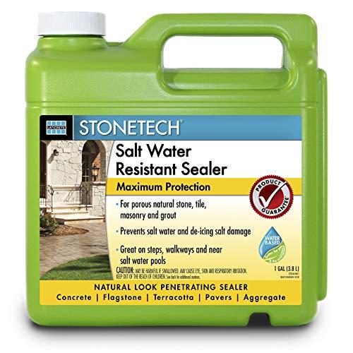 StoneTech Salt Water Resistant Sealer for Natural Stone & Masonry, 1-Gallon (3.785L)