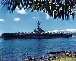 Home Comforts The U.S. Navy Aircraft Carrier USS Bennington (CVS-20) at Pearl Harbor, in May 1968. Bennington, wit Vivid Imagery Laminated Poster Print 24 x 36