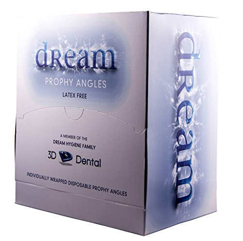 3D Dental DPA100F Disposable Prophy Angle, Firm (Pack of 100)