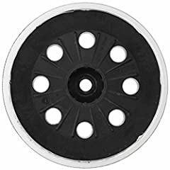 Soft, hook and loop Flexible, general-purpose rubber pad allows flat or contour sanding without gouging Ideal for flat surfaces and fast removal Great for general-purpose sanding and polishing